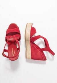 Paloma Barceló - TELMA - Sandály na vysokém podpatku - red - 3