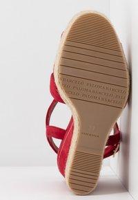 Paloma Barceló - TELMA - Sandály na vysokém podpatku - red - 6