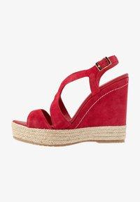 Paloma Barceló - TELMA - Sandály na vysokém podpatku - red - 1
