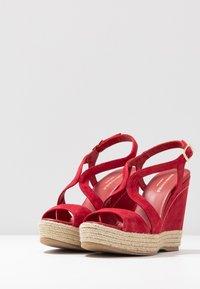 Paloma Barceló - TELMA - Sandály na vysokém podpatku - red - 4