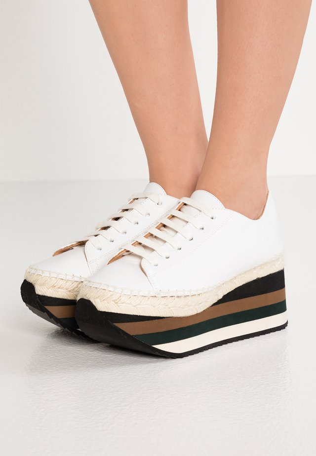 HARMONY - Loafers - white
