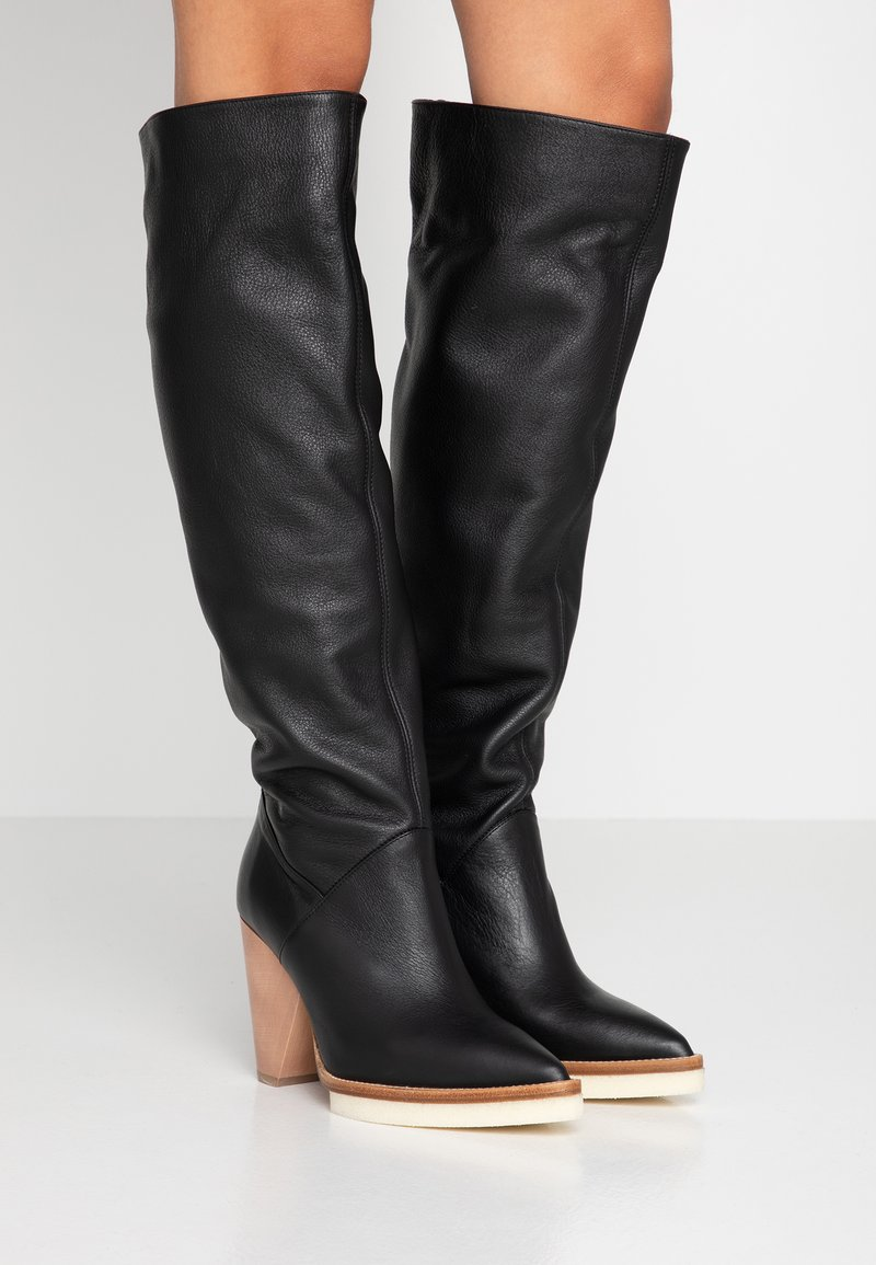 Paloma Barceló - ROSANNA - Boots med høye hæler - black
