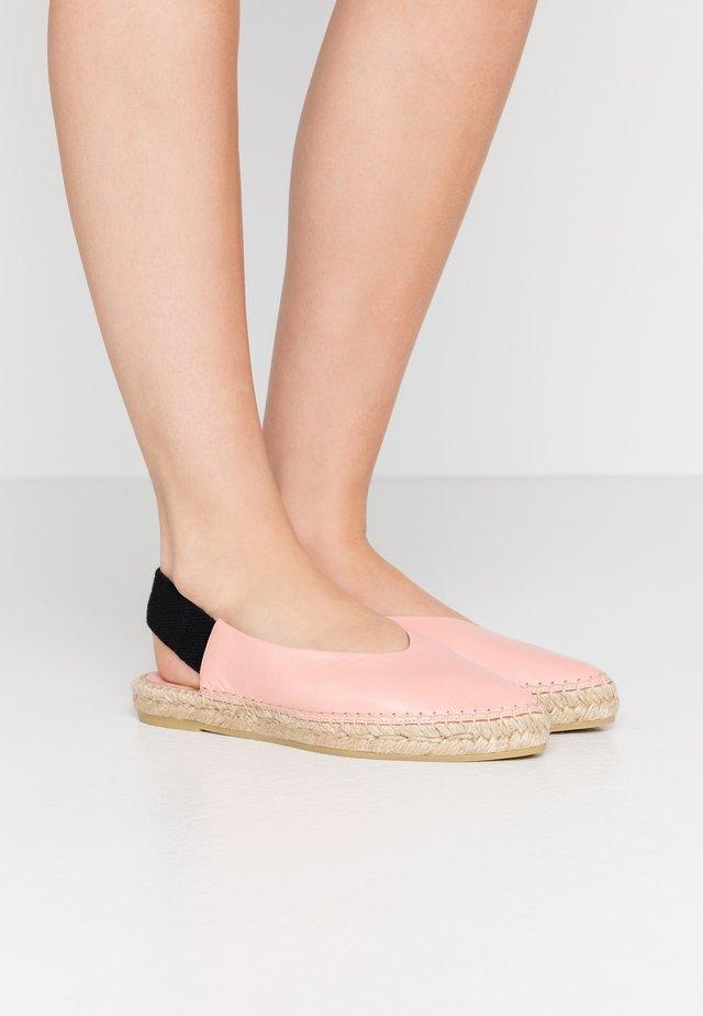 ANNA MADRID - Loafers - light pink