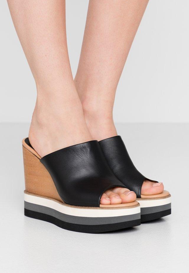 DALIAS  - Pantofle - black
