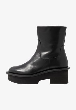 NADINE - Bottines à plateau - black