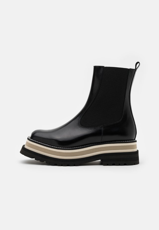 CAJAMAR - Platåstøvletter - black