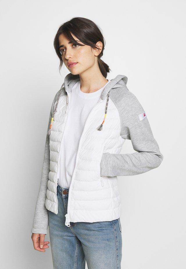 PICNIC - Dunjakker - white/grey