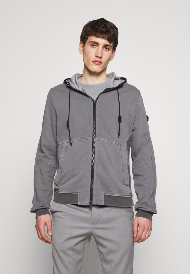 MONKEES - Zip-up hoodie - grey