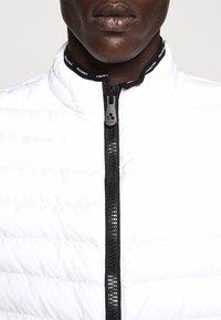 Peuterey - MOISE - Waistcoat - white - 9