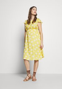 Paulina - YELLOW DREAMS - Korte jurk - yellow - 1
