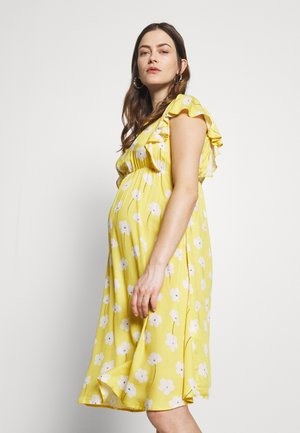 YELLOW DREAMS - Korte jurk - yellow