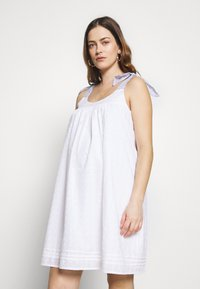Paulina - SON OF A SUN - Korte jurk - white - 0