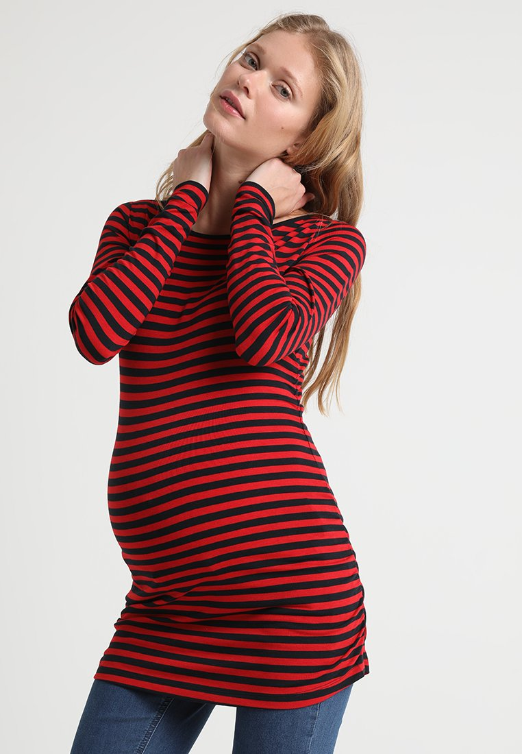 Paulina - Langarmshirt - red/dark blue