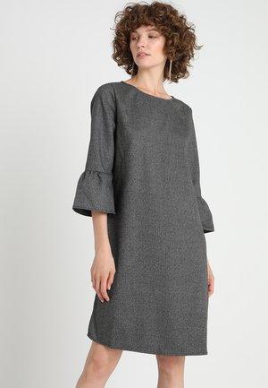 WINY CHECK - Korte jurk - slate grey melange