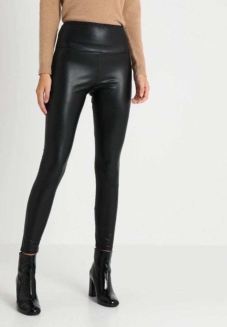Opus - ELYSSA - Leggings - Trousers - black