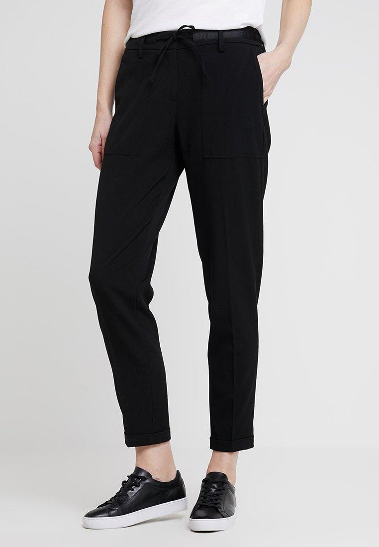 Opus - MIDONI - Trousers - black