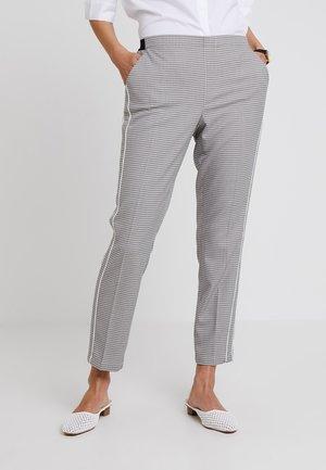 EDIRA CHECK - Pantaloni - simply blue