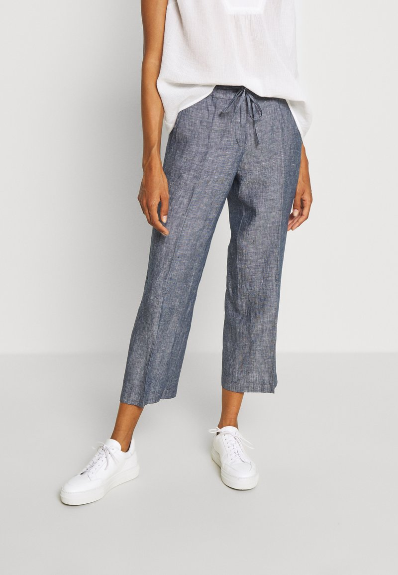 Opus - MARITTA - Trousers - forever blue