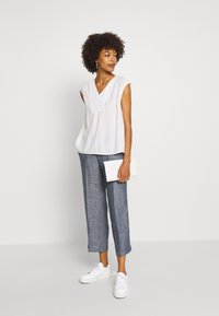 Opus - MARITTA - Trousers - forever blue - 1