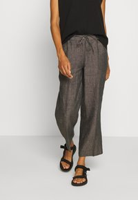 Opus - MARITTA - Trousers - oliv tree - 0
