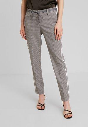 MORIEL PEPITA - Trousers - iron grey melange