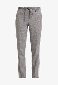 Opus - MORIEL PEPITA - Pantaloni - iron grey melange - 3
