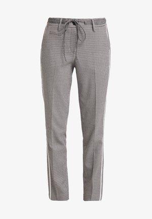 MORIEL PEPITA - Pantaloni - iron grey melange