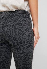 Opus - ELMA LEO - Slim fit jeans - slate grey melange - 5