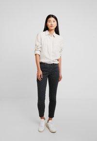 Opus - ELMA LEO - Slim fit jeans - slate grey melange - 1