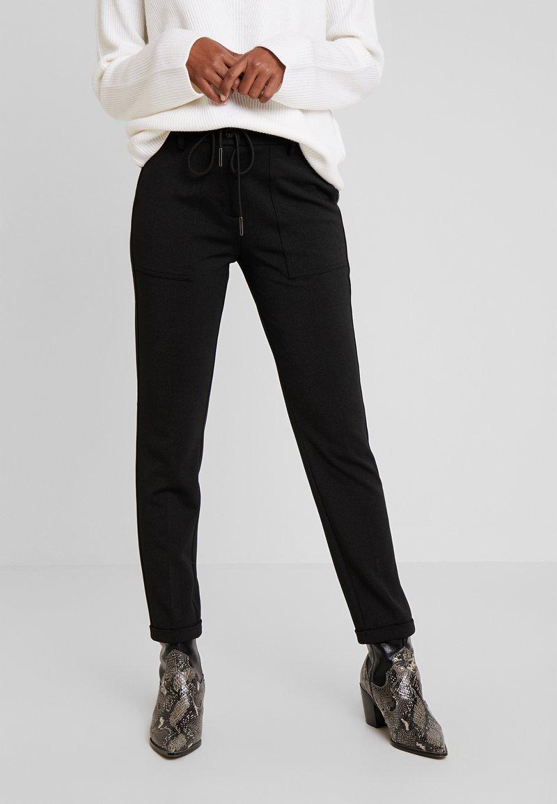 Opus - MIZIA - Trousers - black