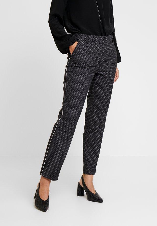 ELSI BABYLON - Trousers - slate grey melange