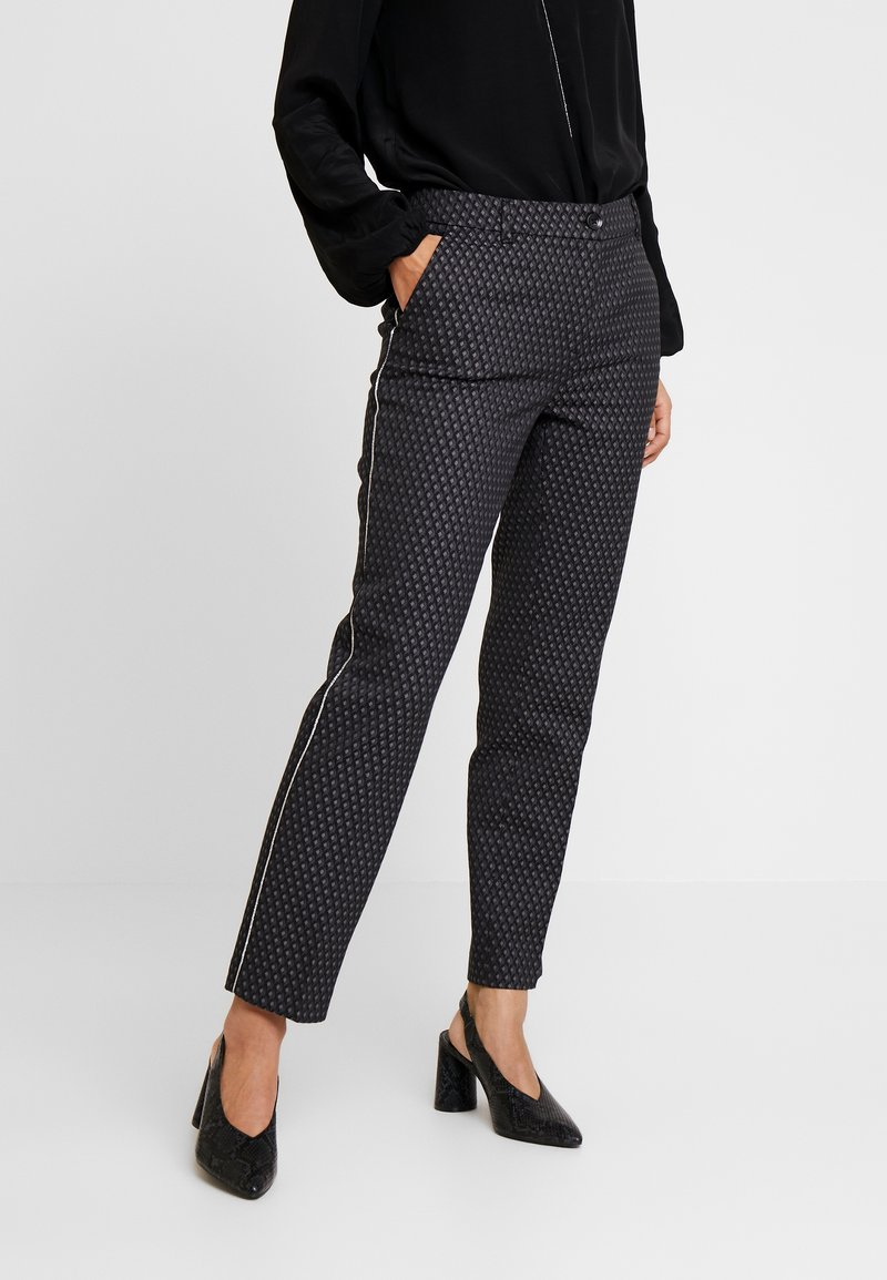 Opus - ELSI BABYLON - Pantalones - slate grey melange