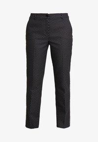 Opus - ELSI BABYLON - Pantalones - slate grey melange - 4