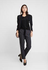Opus - ELSI BABYLON - Pantalones - slate grey melange - 2