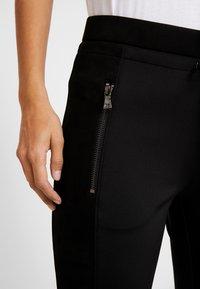 Opus - LEVINA - Spodnie materiałowe - black - 5