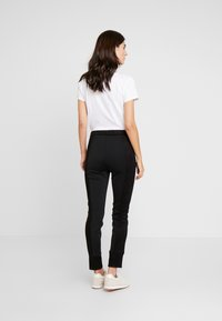 Opus - LEVINA - Spodnie materiałowe - black - 2