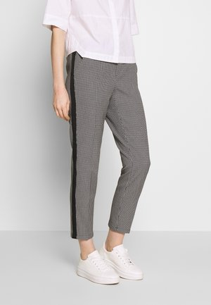 EDIRA MONOCHROME - Trousers - black