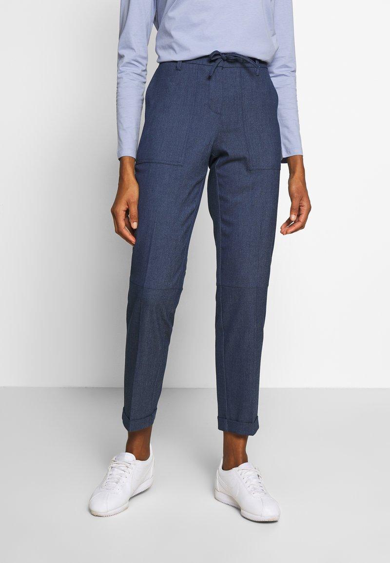 Opus - MARCY - Pantalones - just blue