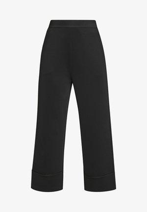 MALIKI BLANK - Trousers - black