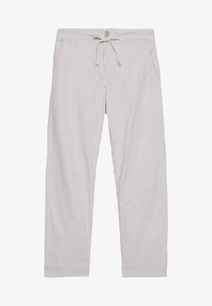 MIDANI WIDE STRIPE - Stoffhose - milk