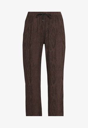 MAHOLA - Pantalones - black