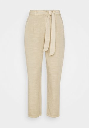 MAYLA - Trousers - natural beige