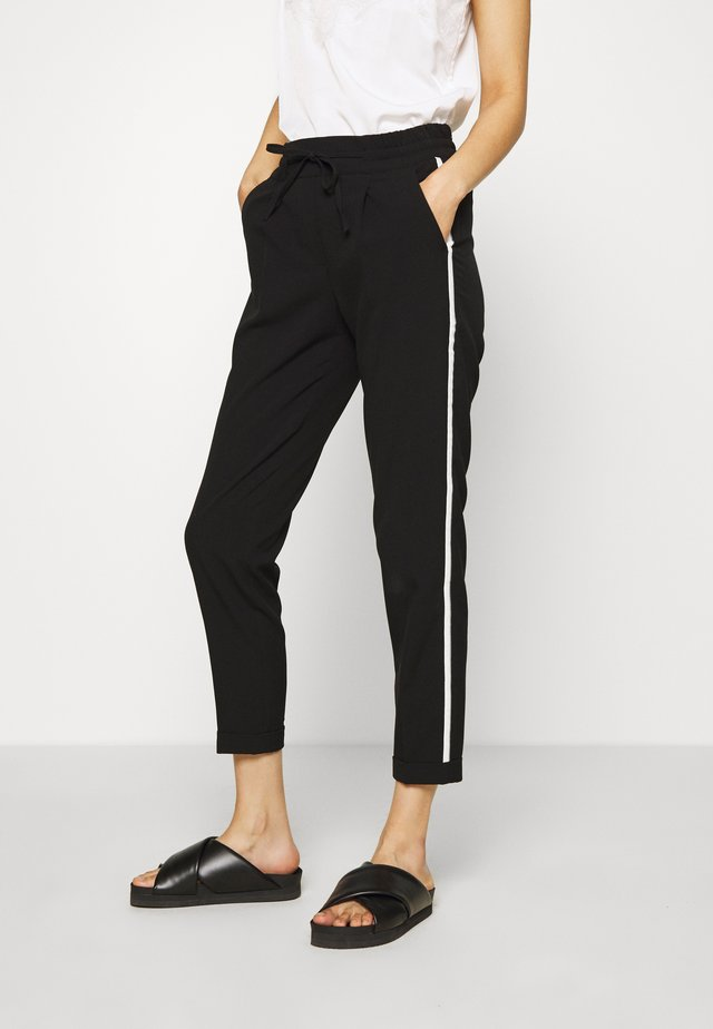 MELOSA  - Spodnie materiałowe - black
