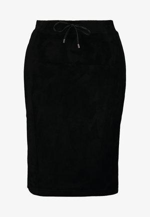 RASCHJA - Pencil skirt - black