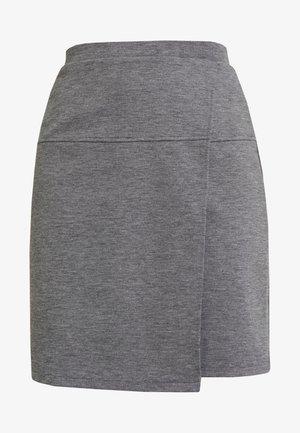 RINAKO - Jupe trapèze - slate grey melange