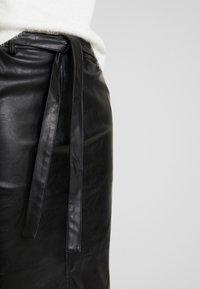 Opus - RINO - Pouzdrová sukně - black - 4