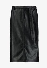 Opus - RINO - Pouzdrová sukně - black - 3