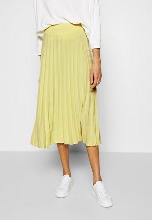 RICCA - Áčková sukně - fresh lemon