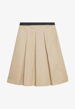 REJANA - A-line skirt - soft ginger