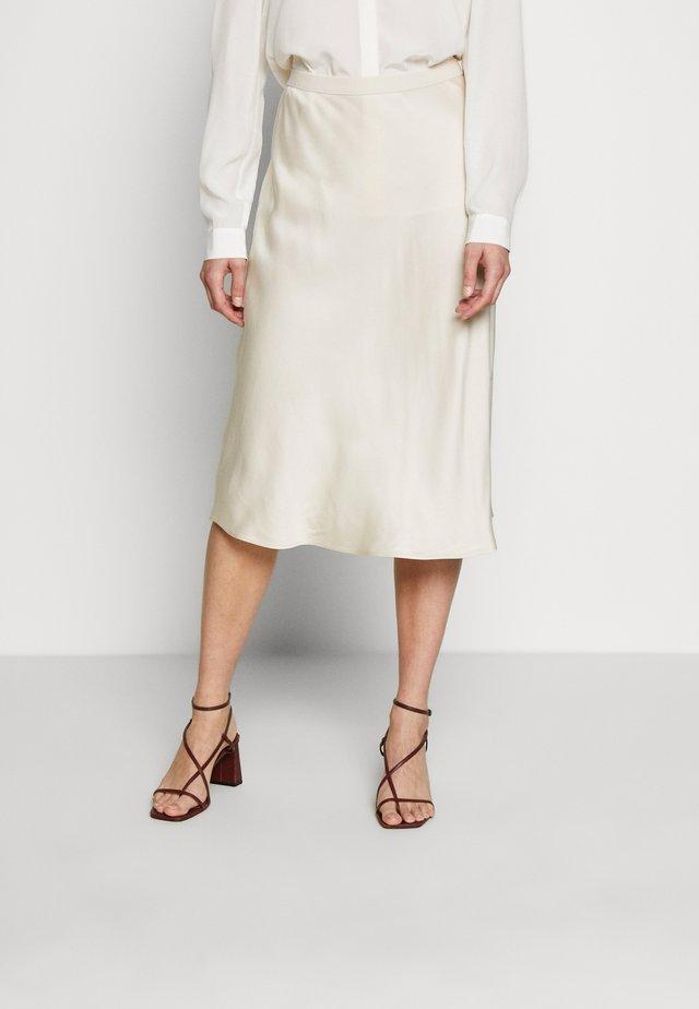 ROOKIA - A-snit nederdel/ A-formede nederdele - ivory